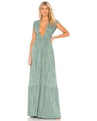 Sabina Musayev - Tyler Dress In Green - Lyst