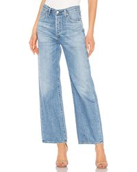 Citizens of Humanity - Flavie ワイドレッグデニム. Size 25,29. - Lyst