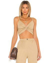 House of Harlow 1960 Sahara トップ In Tan. Size M, L, Xl. - マルチカラー