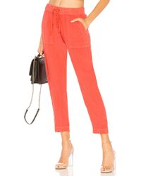 Enza Costa - French Linen Easy Pant - Lyst