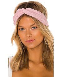 Hunza G Nile Headband - Pink