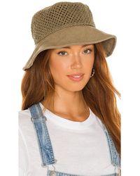 Rag & Bone Nando Bucket Netting Hat - Natur