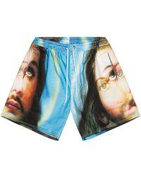 Pleasures Holy Shorts - Blau