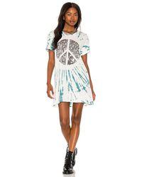 Lauren Moshi Geneva Tee Shirt Dress - White