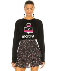 Étoile Isabel Marant Kiefferf Tシャツ - ブラック