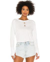 Free People Arden ロングtシャツ - ピンク