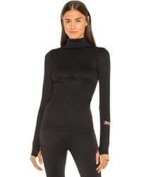 Reebok X Victoria Beckham Seamless Long Sleeve Top - Black