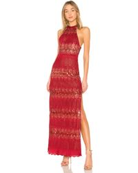X By NBD - Yara Gown In Red - Lyst
