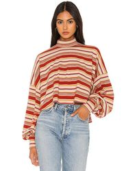 Free People Steph Pullover - Multicolour