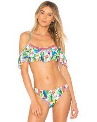 Nanette Lepore Top Bikini Enchantress - Verde