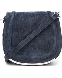 BCBGeneration | Suede Saddle Bag | Lyst