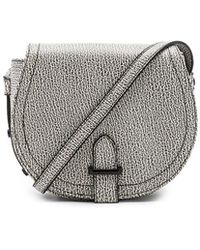 BCBGeneration | Crackle Pebble Saddle Bag | Lyst