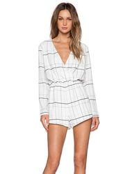 The Fifth Label - Party Talk Playsuit - Lyst