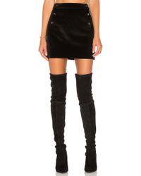 Greylin - Thompson Brushed Velvet Skirt - Lyst