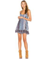 Gypsy 05 - Spaghetti Strap Mini Dress - Lyst