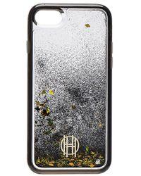 House of Harlow 1960 - Liquid Glitter Iphone 7 Case - Lyst