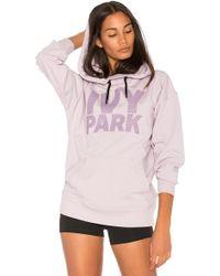 Ivy Park Logo Hoodie - Purple