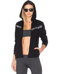 Lanston - Sport Remy Contrast Zip Up Hoodie - Lyst