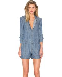 Level 99 - Baily Romper - Lyst