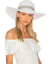 L*Space - Sunday Funday Beach Hat L* - Lyst