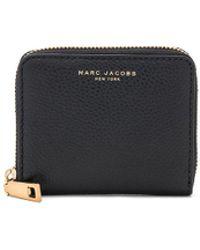 Marc Jacobs Recruit Zip Card Case - Black