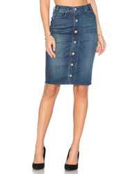 Mcguire   Marino Button Front Skirt   Lyst