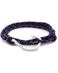 Miansai - Silver Hook On Rope - Lyst