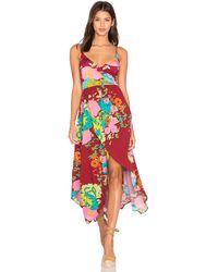 Novella royale midnight alley maxi dress