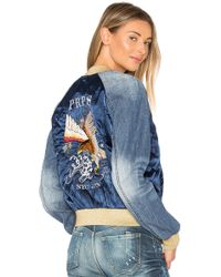 PRPS - Embroidered Bomber Jacket - Lyst