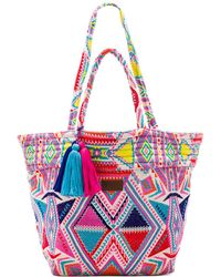 Seafolly Carried Away Oversized Tote - Multicolour
