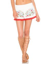 Somedays Lovin - Leonie Embroidered Shorts - Lyst