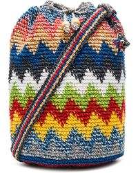 Stela 9 - Crochet Bucket Bag - Lyst