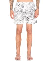 Stampd - Speckle Print Trunk - Lyst