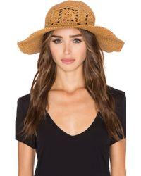 ViX - Flower Hat - Lyst