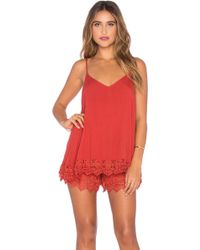 Wilde Heart - Tiny Dancer Romper - Lyst