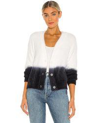 Bella Dahl Sweater Cardigan - Weiß