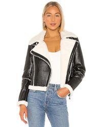 superdown Genna Zip Up Jacket - Black