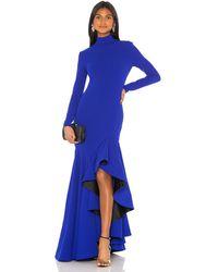 Solace London Вечернее Платье Mina В Цвете Яркий Голубой - Royal. Размер Us 4/ Uk 8 (также В Us 8/ Uk 12). - Синий