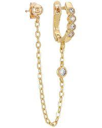 Natalie B. Jewelry Серьги Lolo В Цвете Золотой - Металлик