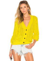 RTA Hunter Cardigan - Yellow