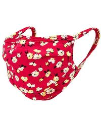 Lovers + Friends Protective Face Mask - Red