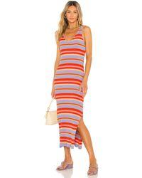 Seafolly Платье Sun Dancer В Цвете Чили - Оранжевый