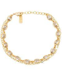 Natalie B Jewelry Calypso Bracelet in Metallic Silver 0KaA80H