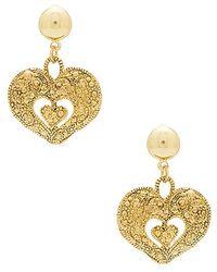 Frasier Sterling - Valentina Earrings In Gold. - Lyst