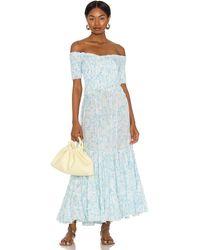 Poupette Soledad ドレス - ブルー