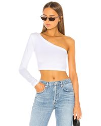 Cotton Citizen Brisbane クロップシャツ - ホワイト