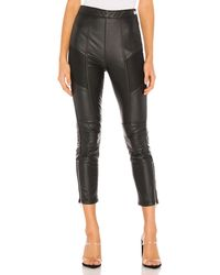 Free People Kaelin Moto Skinny - Black