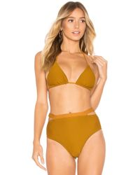 Vitamin A - Gia Reversible Triangle Top - Lyst