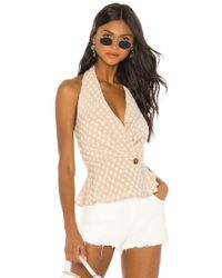 House of Harlow 1960 X Revolve Enzo Top - Natural