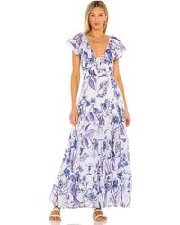 brand: Banjanan Gladys ドレス - ブルー